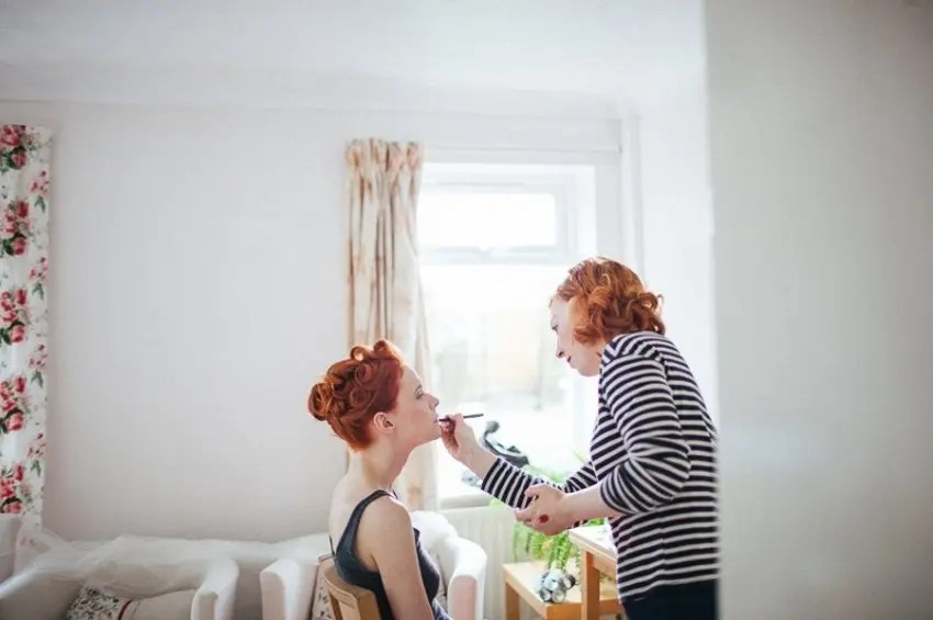 8 Questions You Should Ask Your Bridal Make Up Artist from Rebecca Loves Weddings at www.rebeccaanderton.co.uk