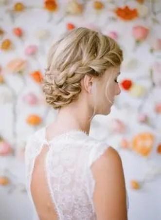 2015 Wedding Trends - Briaded wedding hairstyle from Rebecca Loves Weddings www.rebeccaanderton.co.uk