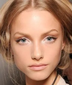 2015 Wedding Trends -Natural bridal eye makeup from Rebecca Loves Weddings www.rebeccaanderton.co.uk