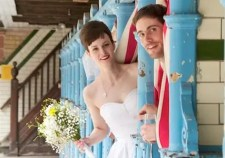 Victoria Baths wedding | Make up and hair by Rebecca Anderton in Manchester at www.rebeccaanderton.co.uk