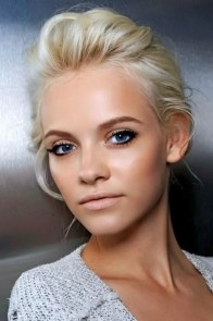 Prom Hair and Makeup Inspiration - Danaerys inspired prom makeup from Rebecca Loves Weddings www.rebeccaanderton.co.uk