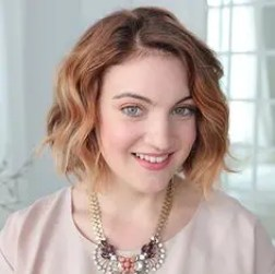 Prom Hair and Makeup Inspiration - Natural prom makeup from Rebecca Loves Weddings www.rebeccaanderton.co.uk