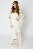 Sixties Wedding Style File - Crochet wedding dress from Rebecca Loves Weddings www.rebeccaanderton.co.uk