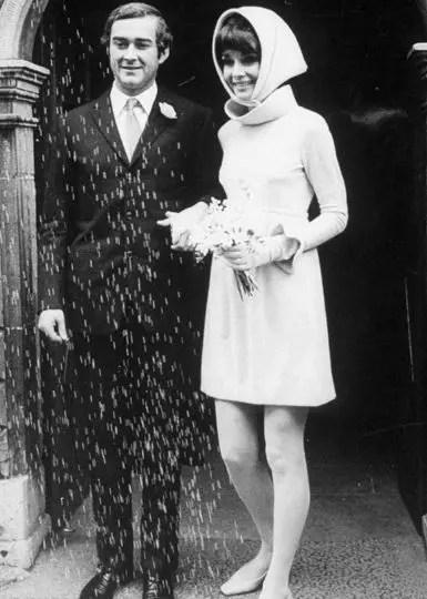 Sixties Wedding Style File - Audrey Hepburn wedding from Rebecca Loves Weddings www.rebeccaanderton.co.uk