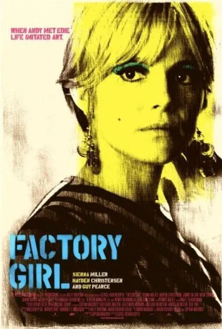 Sixties Wedding Style File - Factory Girl poster from Rebecca Loves Weddings www.rebeccaanderton.co.uk