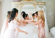 Stunning wedding at Delamere Manor in Cheshire, Hair & Makeup by www.rebeccaanderton.co.uk