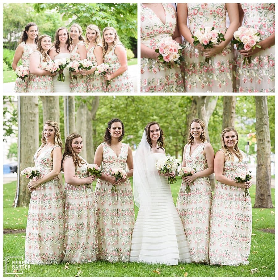vaultandvine bridesmaid floral