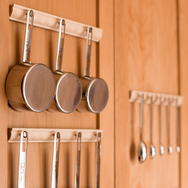 kitchen tool holder drop in grills for outdoor kitchens home ergonomics rebecca caldera i always seek inventive ways to make my everyday life more ergonomic this project wanted reduce clutter
