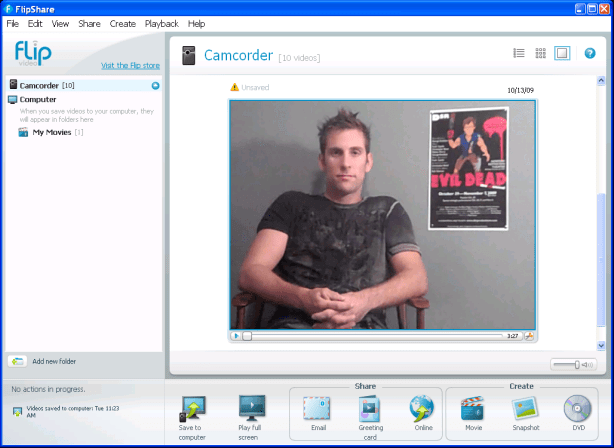 flipshare screen shot