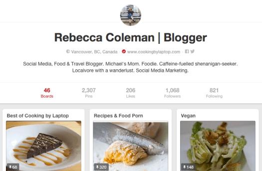 Rebecca Coleman Pinterest