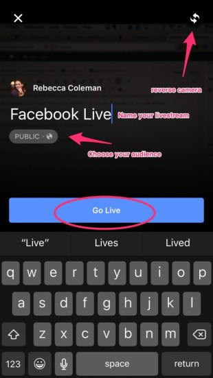 facebook livestreaming video