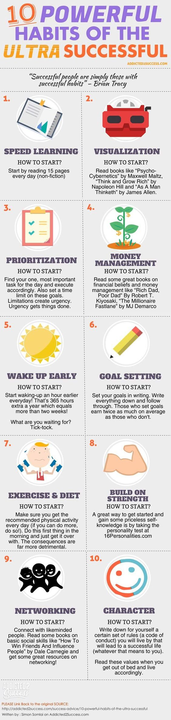 10 habits of the ultra successful