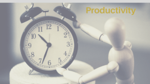 Productivity Header