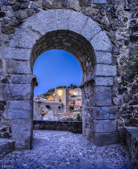 Ancient Arch, Toledo, Spain