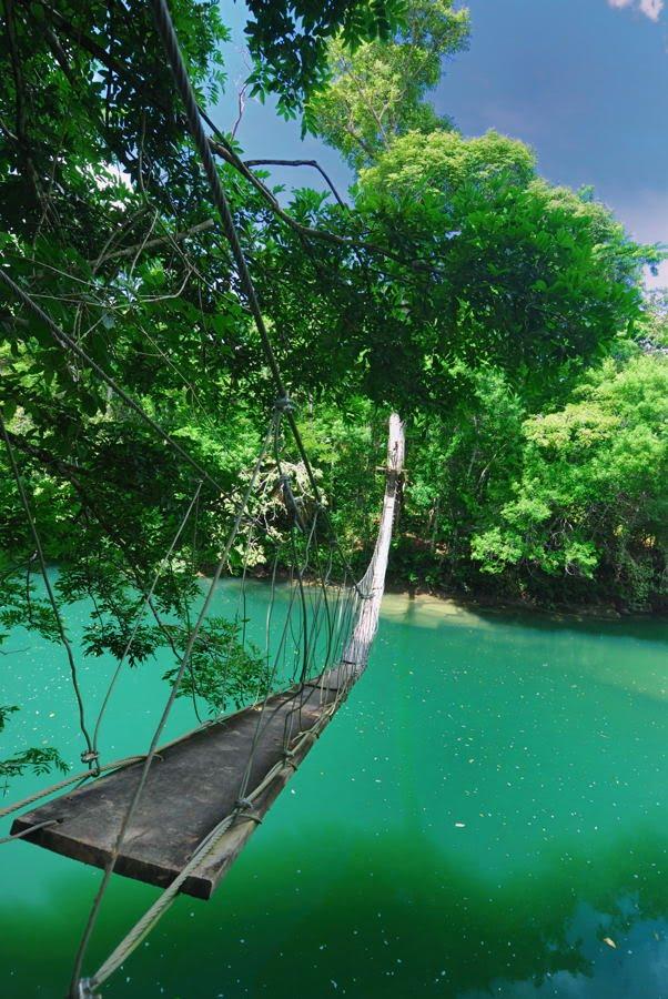 Footbridge, Toledo, Belize