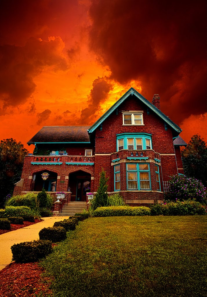 Legendary Haunted Brumder House, Milwaukee, Wisconsin