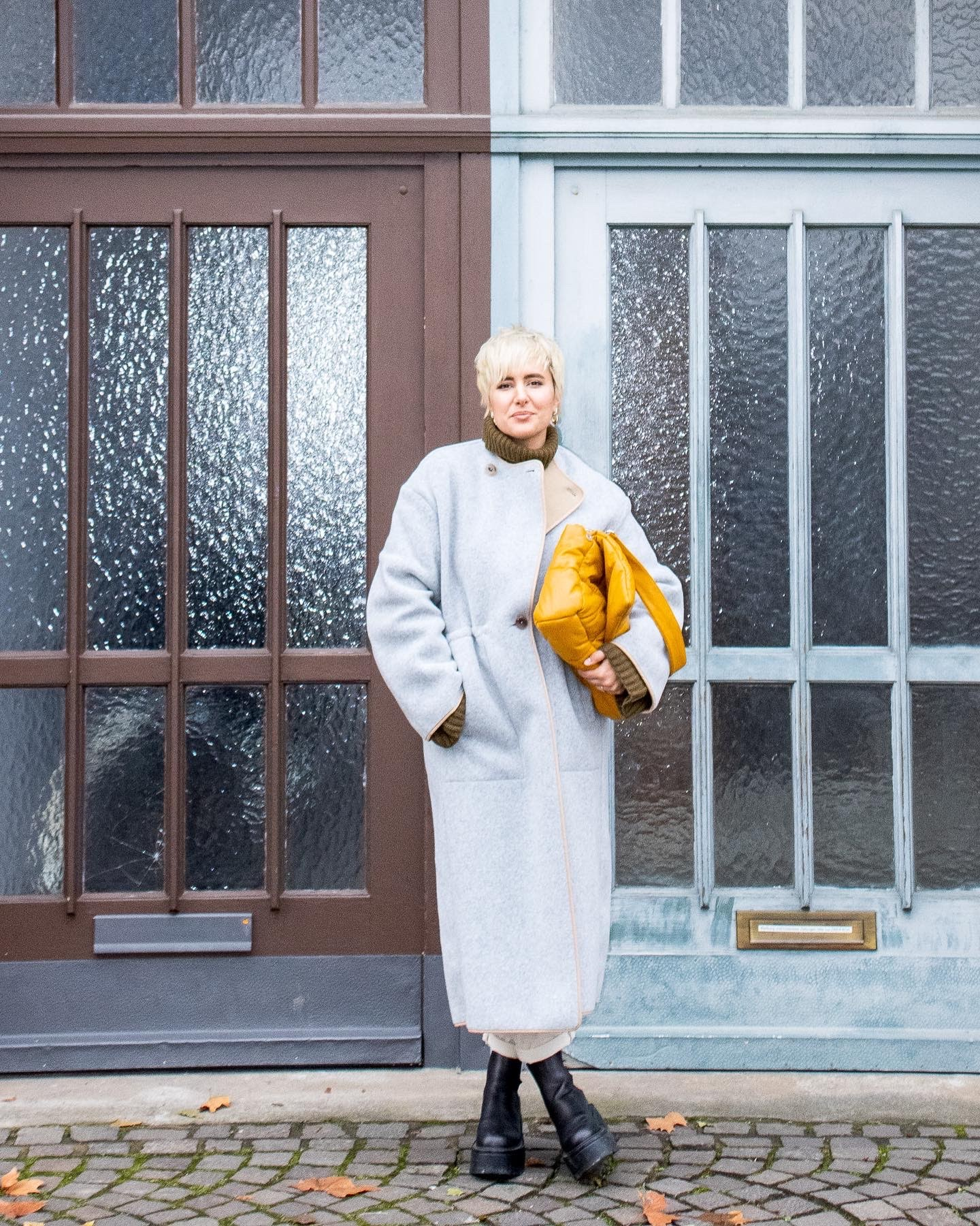 Statement Outerwear Style Challenge wearing Rodebjer @RebeccaInEurope