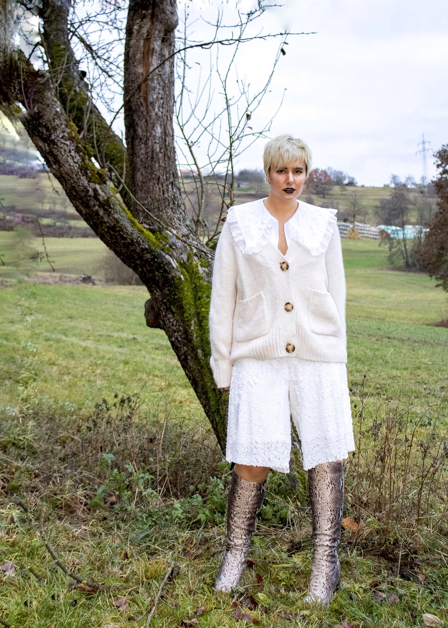 Winter White Style Challenge Diana Inspired @RebeccaInEurope
