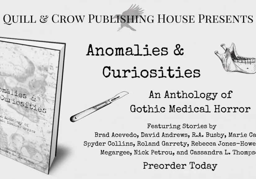 Anomalies & Curiosities Anthology from Quill & Crow Publishing House