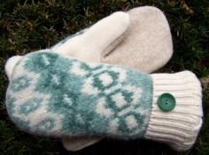 Wool Mohair blend