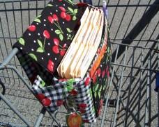 hangs on cart