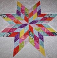 #1 lone star quilt block