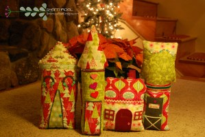 hip holiday houses sewing tutorial