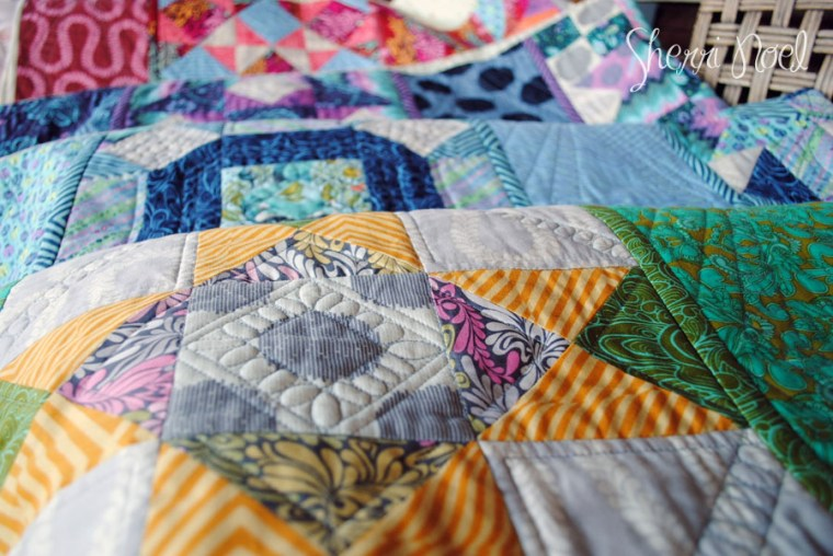Block of the Month Quilt pattern in Tula Pink