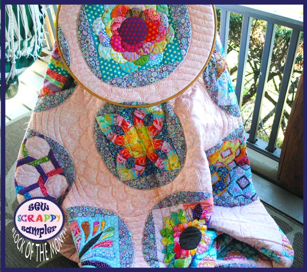 sew scrappy block of the month quilt pattern