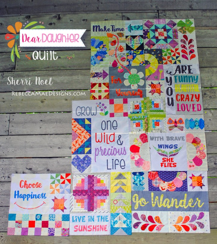 Dear Daughter BOM Quilt chapter 1-7