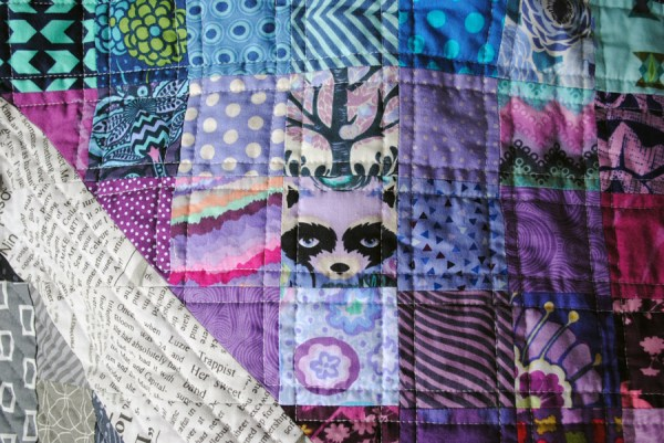 love wins quilt pattern by Sherri Noel