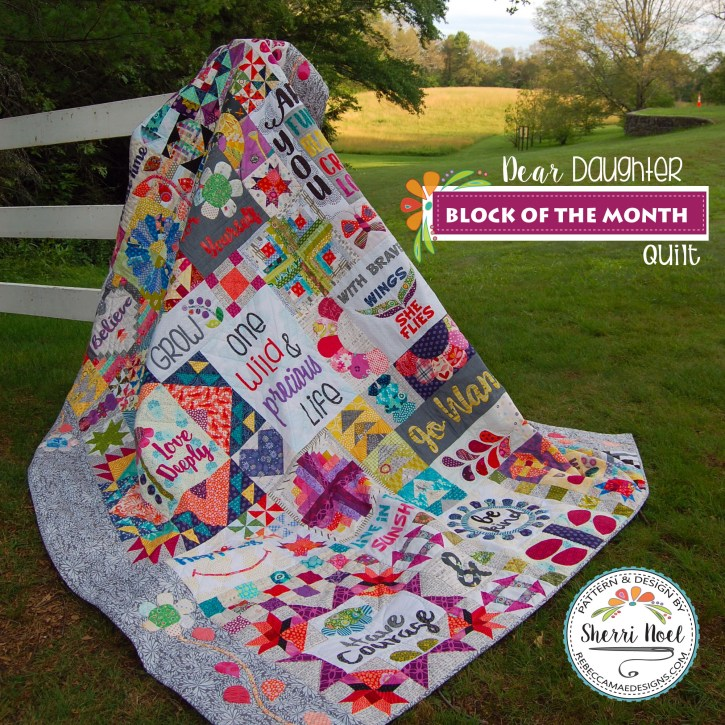 Dear Daughter Quilt Sampler
