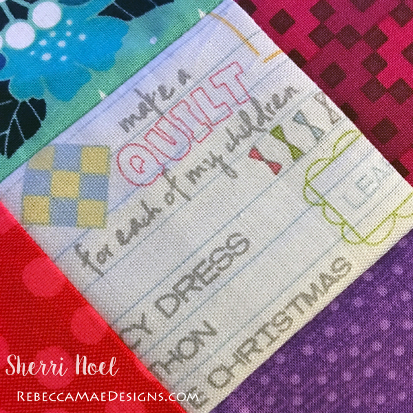 Dear Daughter BOM Quilt chapter 7