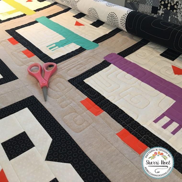 Penguin Quilt Pattern by Sherri Noel, Rebecca Mae Designs