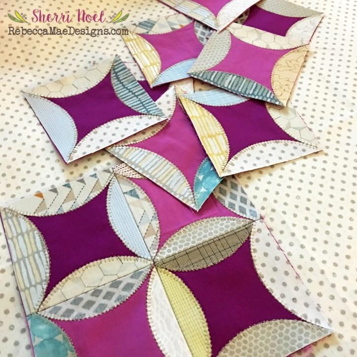dear diary quilt orange peel blocks