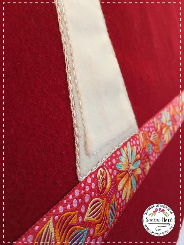 scandinavian applique quilt pattern