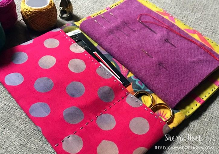 needle book alison glass fabric