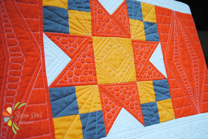 Block of the Month in Kona Cotton Fabrics