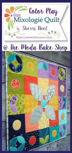 Orange Peel quilt design by Sherri Noel