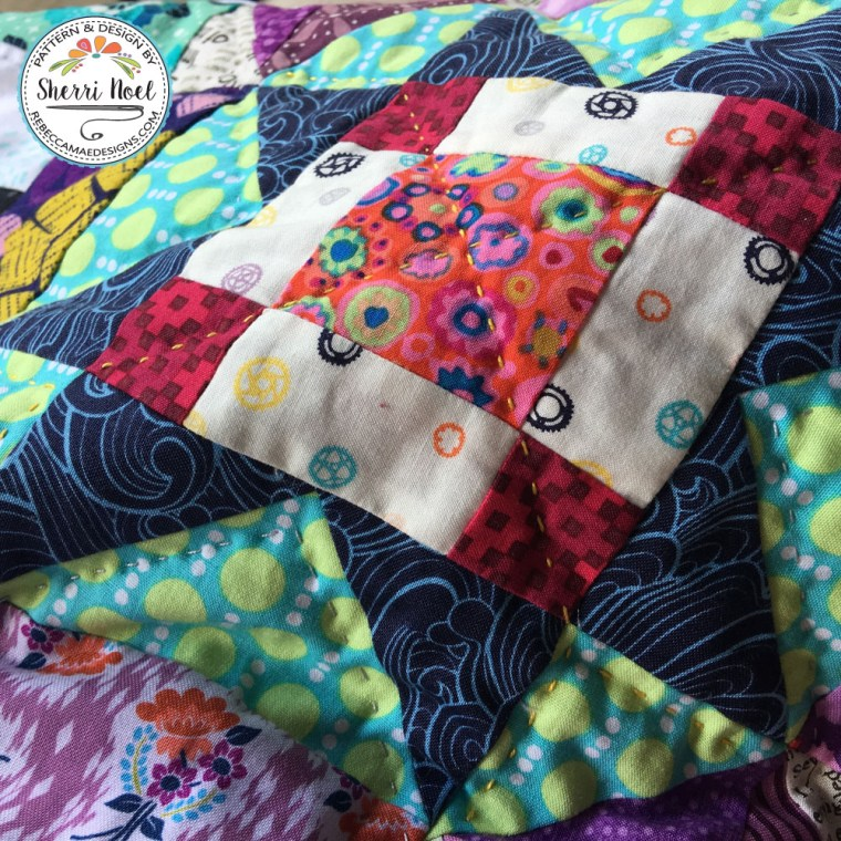 Dear Daughter Block of the month Quilt by Sherri Noel, Rebecca Mae Designs