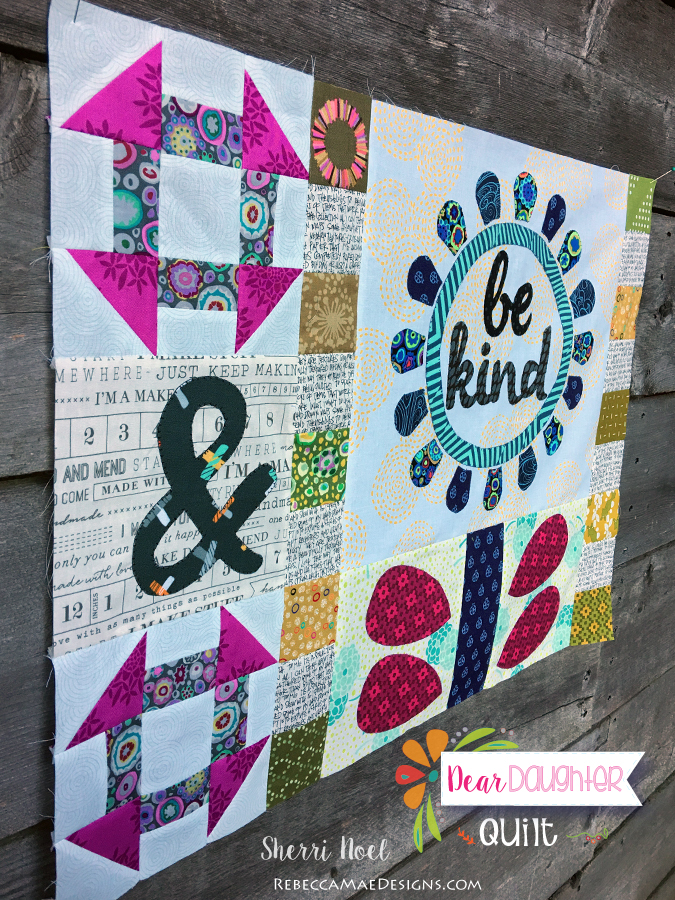 dear daughter quilt pattern