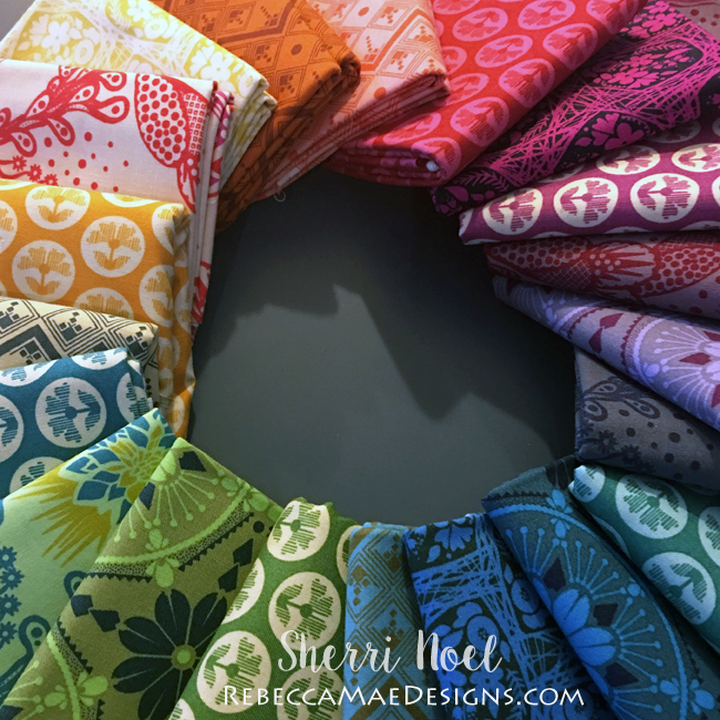 True Colors Fabric bundle Anna Maria Horner