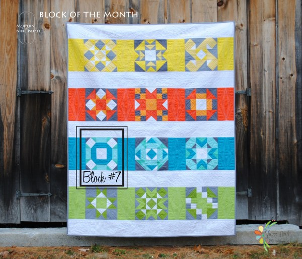 block of the month quilt kona cotton