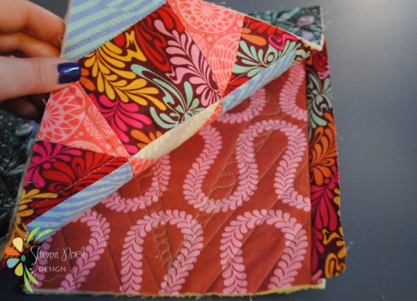 how to join quilted blocks using quilt as you go method