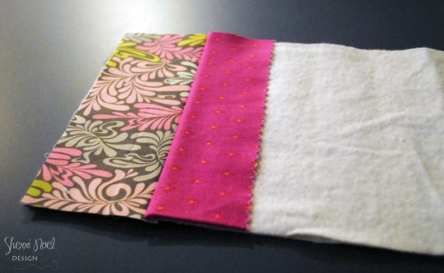 quilt as you go stitch and flip method