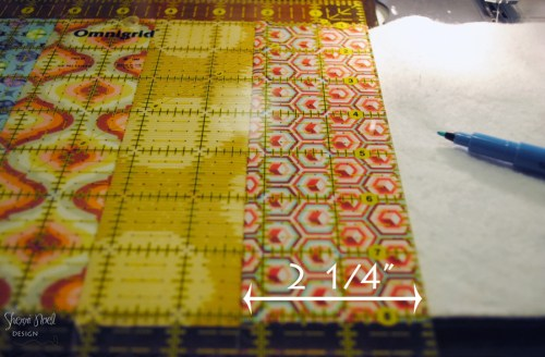 quilt as you go stitch and flip tutorial