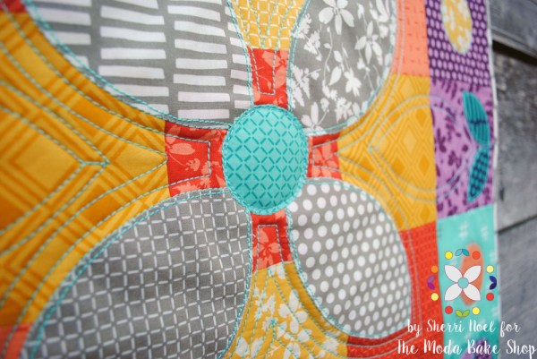 quilting with 12 weight thread