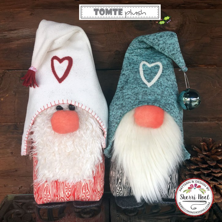 Tomte Plush Gnome Pattern