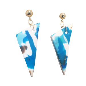 Triangle Dangle Earrings #1