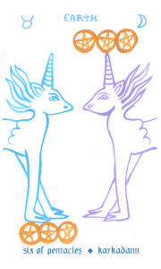 Tarot Card Meanings – Laughing Eye Weeping Eye Divination